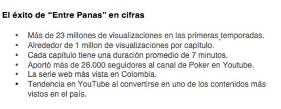 tercera-temporada-Entre-Panas-serie-web-más-vista-Colombia-nuevas-historias-mayor-interacción-seguidores