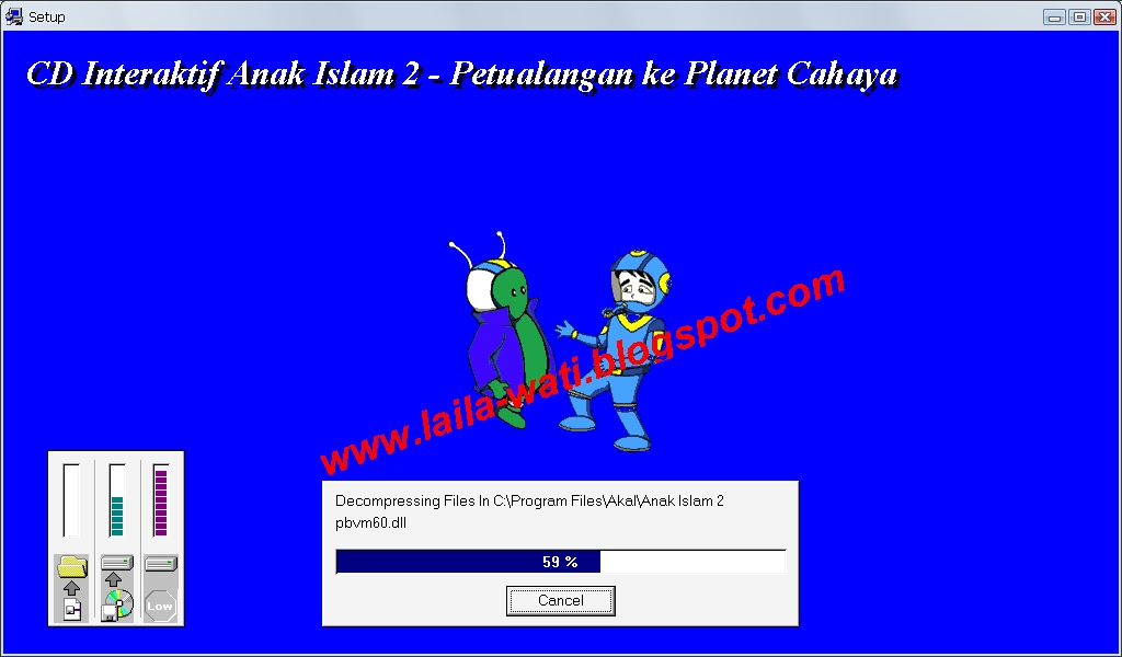 Free Download CD Interaktif Anak Islam 2 Seri Petualangan Ke Planet