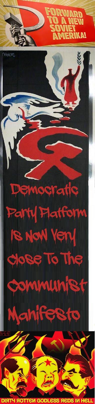 DNC Platform or Communist Manifesto?
