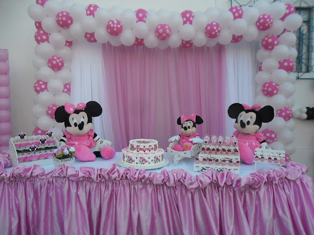 decoracao festa minnie rosa : decoracao festa minnie rosa:Criando Sonhos: DECORAÇÃO DE FESTA MINIE ROSA