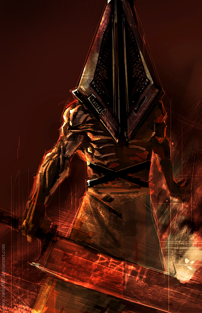 how tall is pyramid head