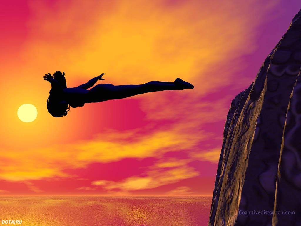 Depth of processing diving off the fiscal cliff - The cliff dive ...
