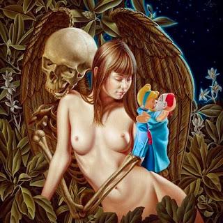 Oleos Mujeres Desnudos Simbolicos