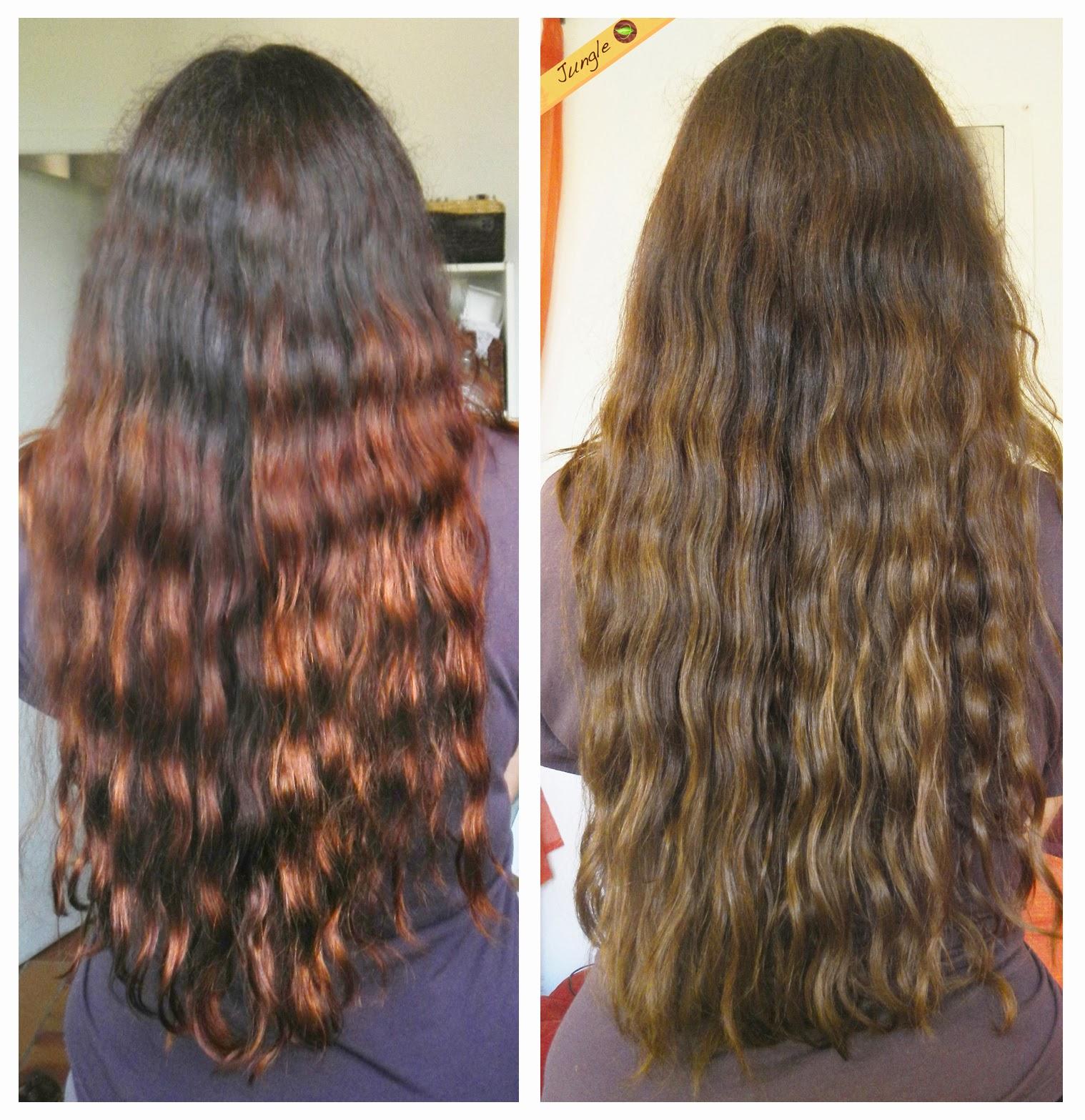 Jungle 39 s hair de beaux cheveux au naturel un premier - Colorant pour huile de lin ...