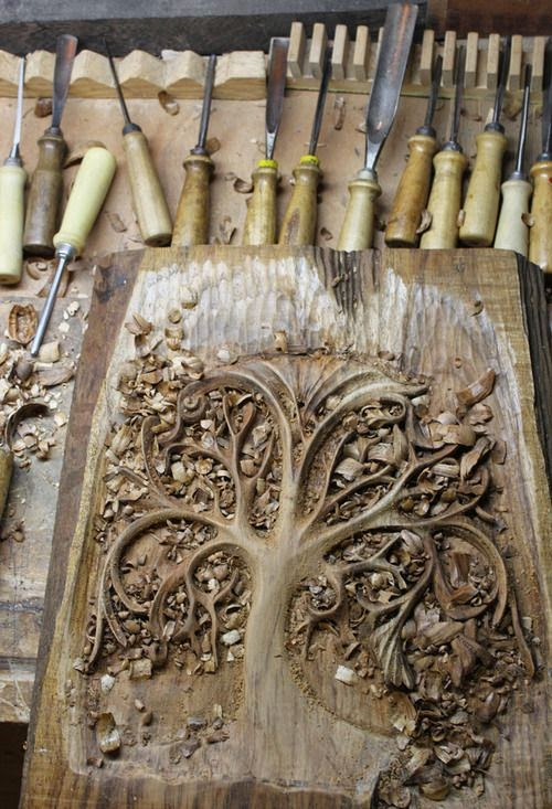 Wood carving designs