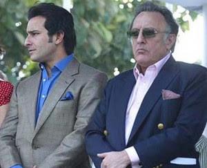 Saif Ali Khan & father Mansoon Ali Khan