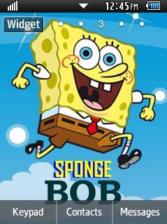 Anime Spongebob Samsung Corby 2 Theme Wallpaper