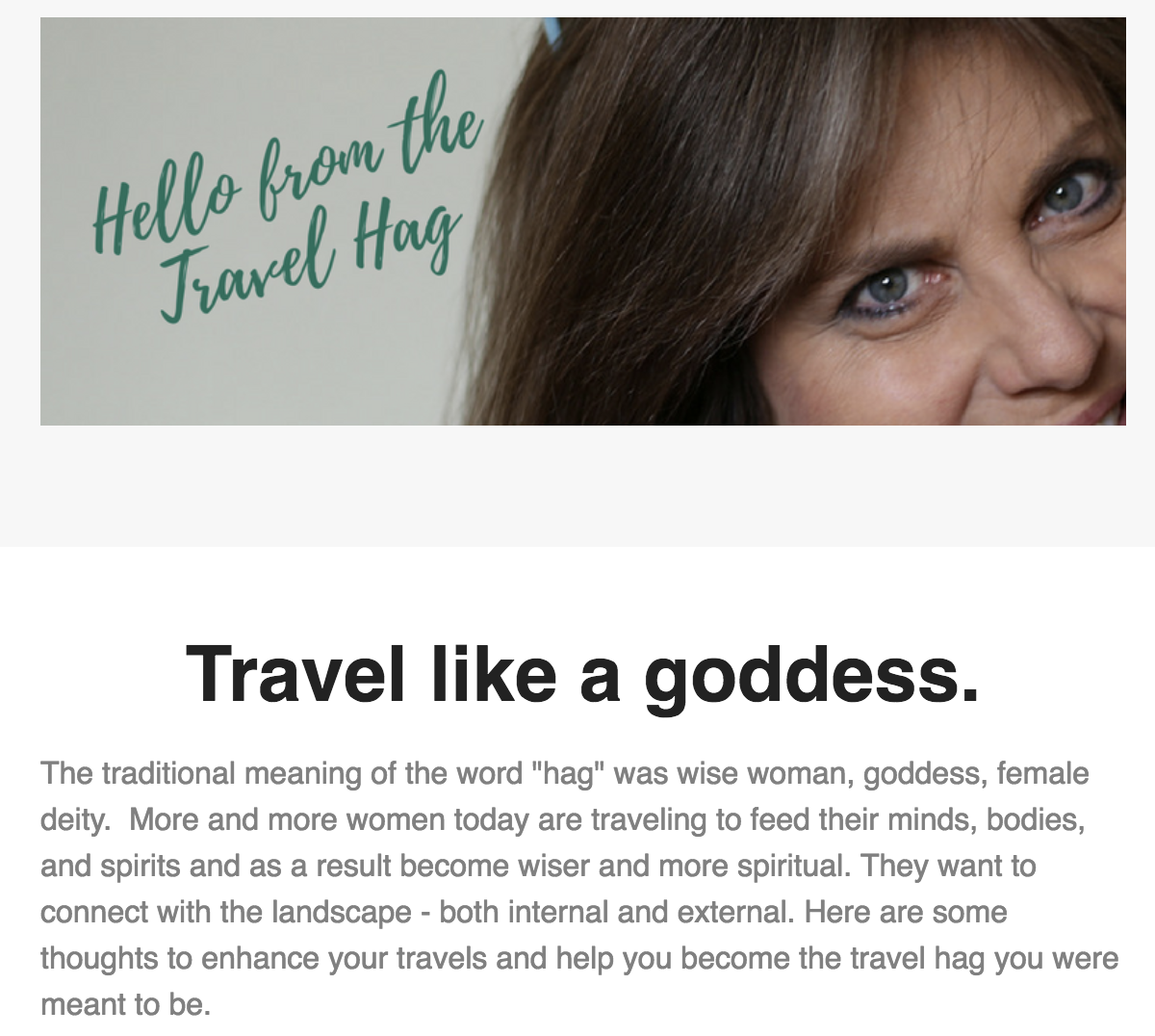 FREE Travel Hag Newsletter