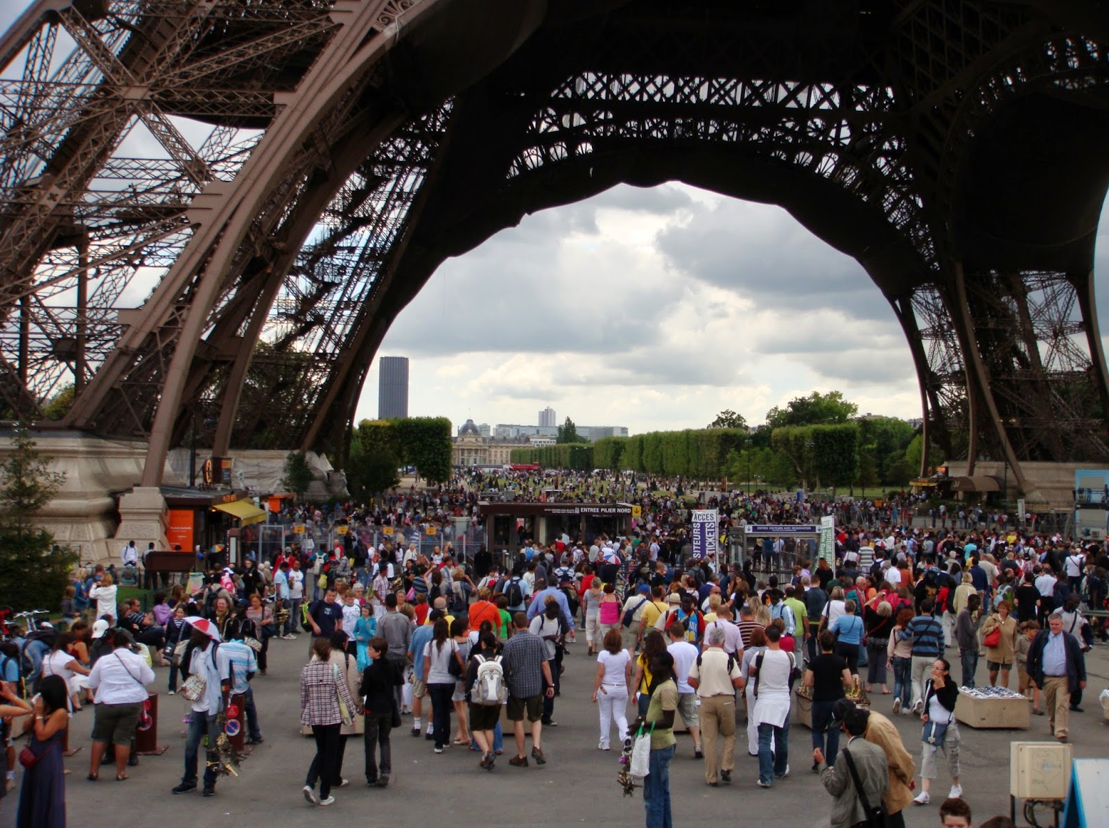 Crowded in Paris
