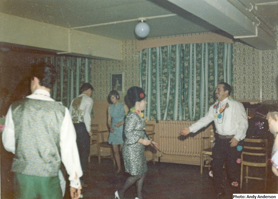A History of RAF Saxa Vord: Dance –Christmas/New Year 1967/68