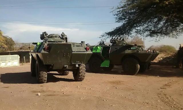 Se reporta un fuerte despliegue militar y el movimiento de vehículos de guerra en zona contigua al departamento de la Guajira . Informan además que hay siete contingentes de uniformados en las poblaciones venezolanas de Mara y Guajira con un total de 1.500 efectivos.