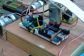 Vue sur le coeur de GraarduiCut: l'Arduino