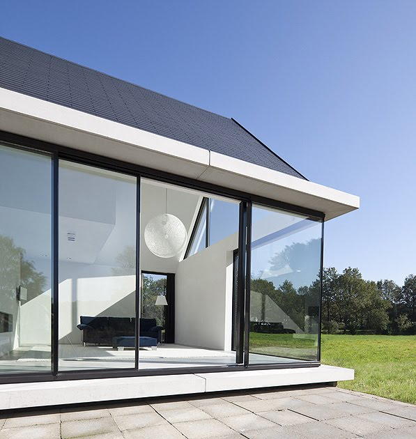 Villa geldrop de hofman dujardin architects una vivienda for Hofman dujardin architects