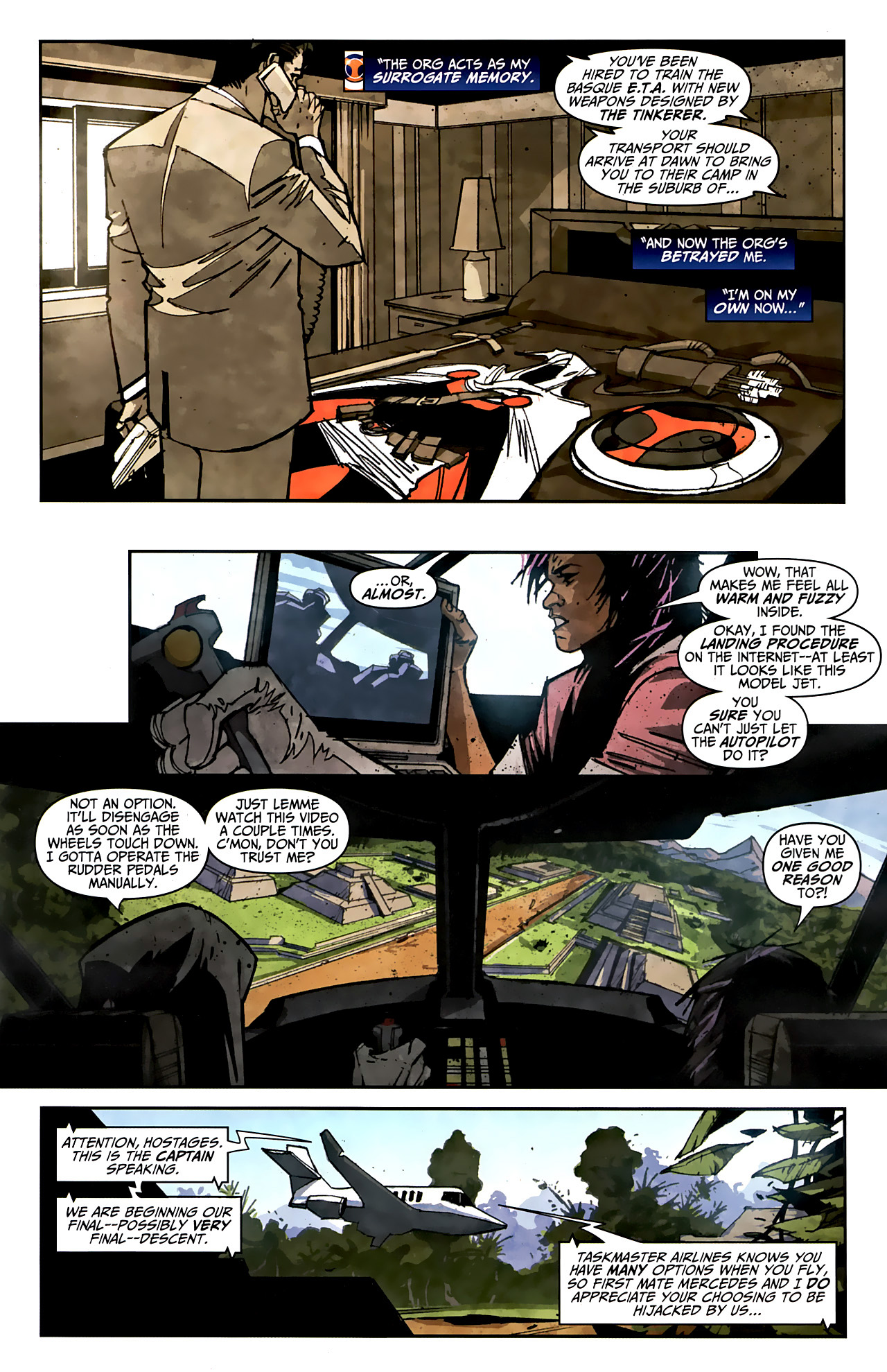 Read online Taskmaster (2010) comic -  Issue #2 - 9