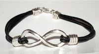 Infinity Bracelet Leather3