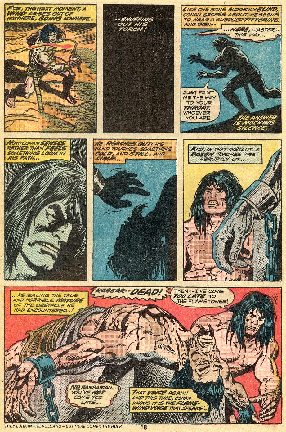 Conan the Barbarian (1970) Issue #33 #45 - English 11