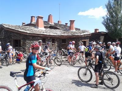 Ruta btt Tianico Jérez del Marquesado Granada Sierra Nevada La Lomilla