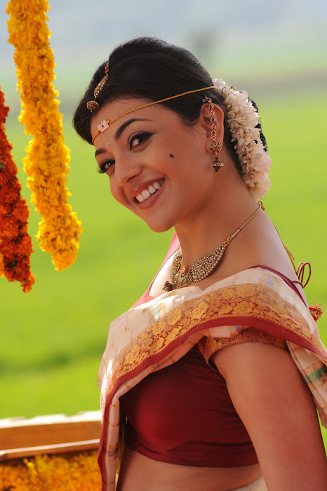 kajal agarwal saree from mrperfect movie glamour  images