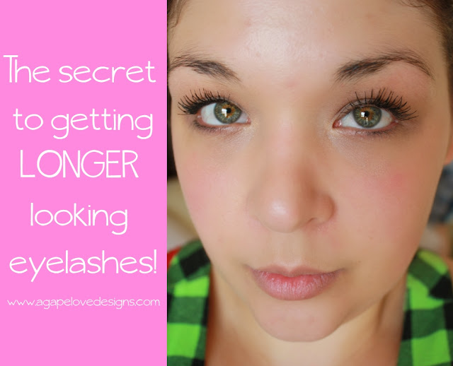 Agape Love Designs: The Secret To LONGER Lashes With Just ...
