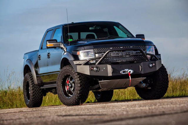 2014 Ford F-150 Raptor SVT with VelociRaptor 800 Twin-Turbo Hennessey