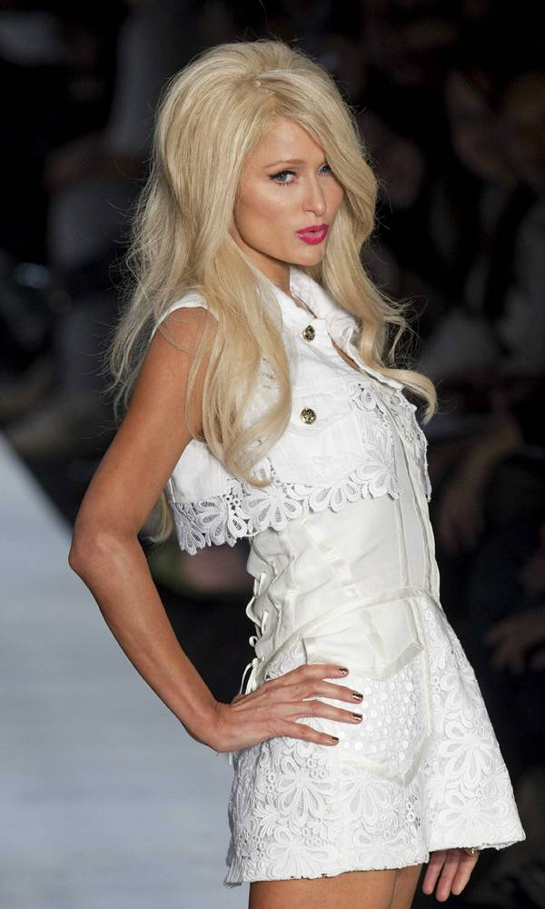 Paris Hilton On Ramp
