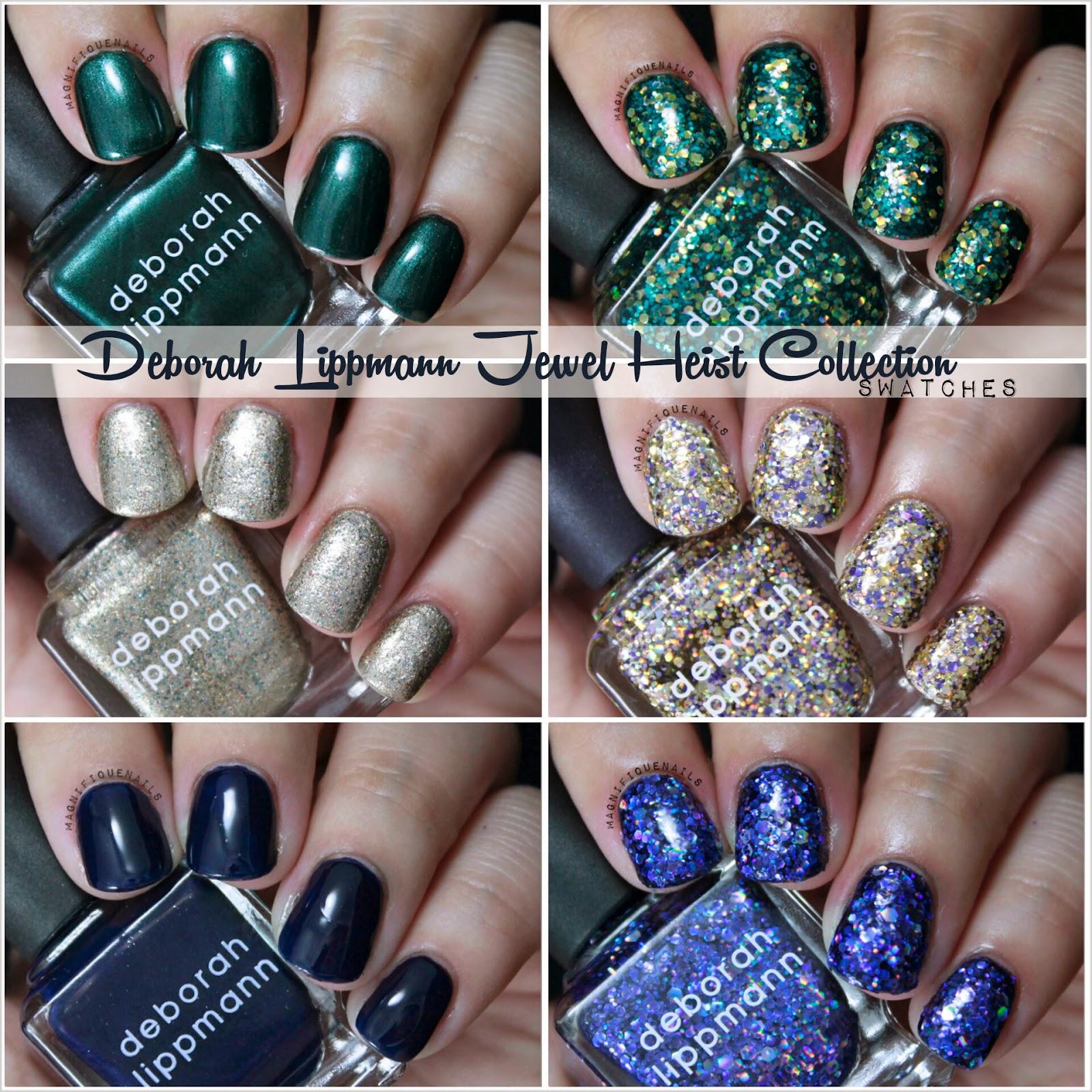 Magically Polished |Nail Art Blog|: Deborah Lippmann Jewel Heist ...