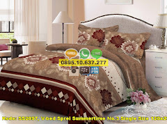 Harga V-bed Sprei Summertime No.3 Single Size 120×200 Jual