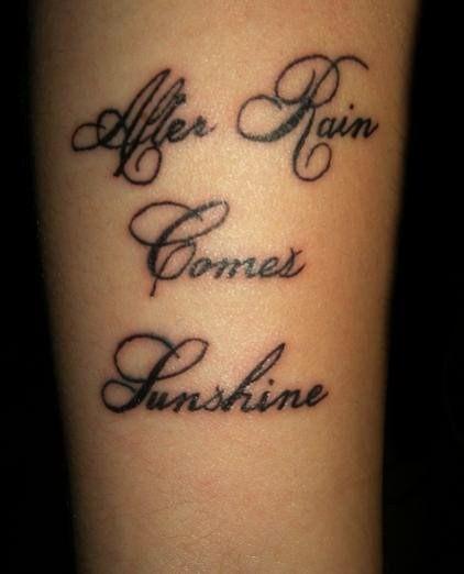Tattoo Dewo Tattoo Lettering