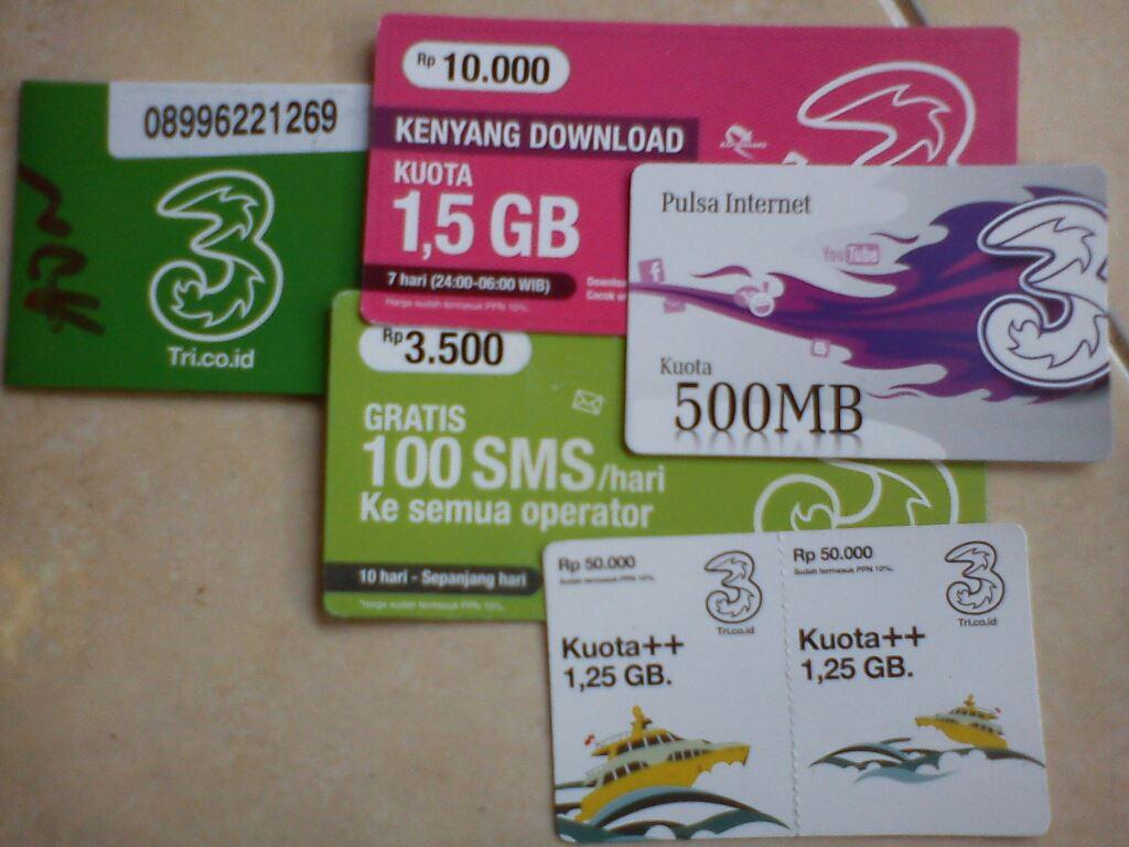 ... Cara Daftar Paket Internet 3 Terbaru bisa langsung ikuti langkah demi