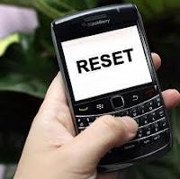 Macam Macam Cara Reset BlackBerry