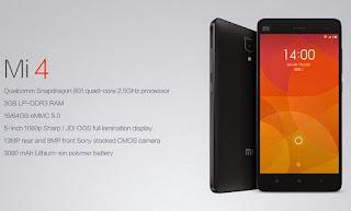 HP Android  Xiaomi MI4