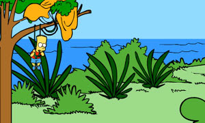 Bart Simpson Island Escap