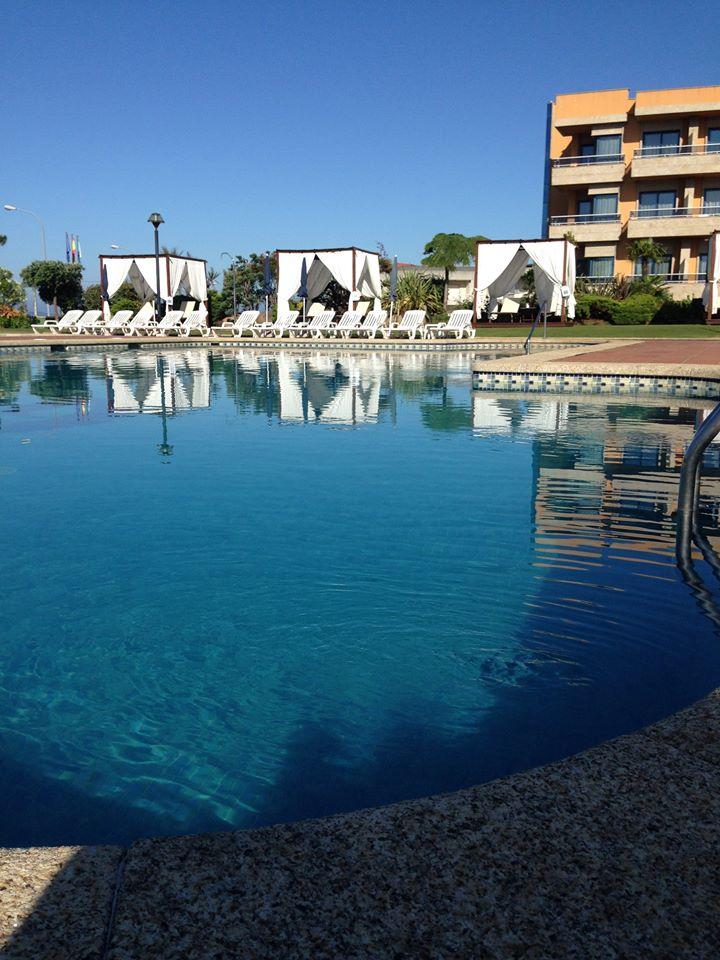 Piscina exterior del Hotel Spa Galatea