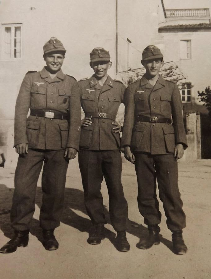 NAZI JERMAN: Foto Album Hermann Göring Division di Italia