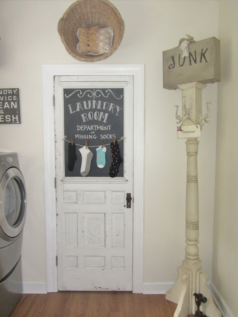 Vintage Laundry Room Junk Chic Cottage Laundry Room