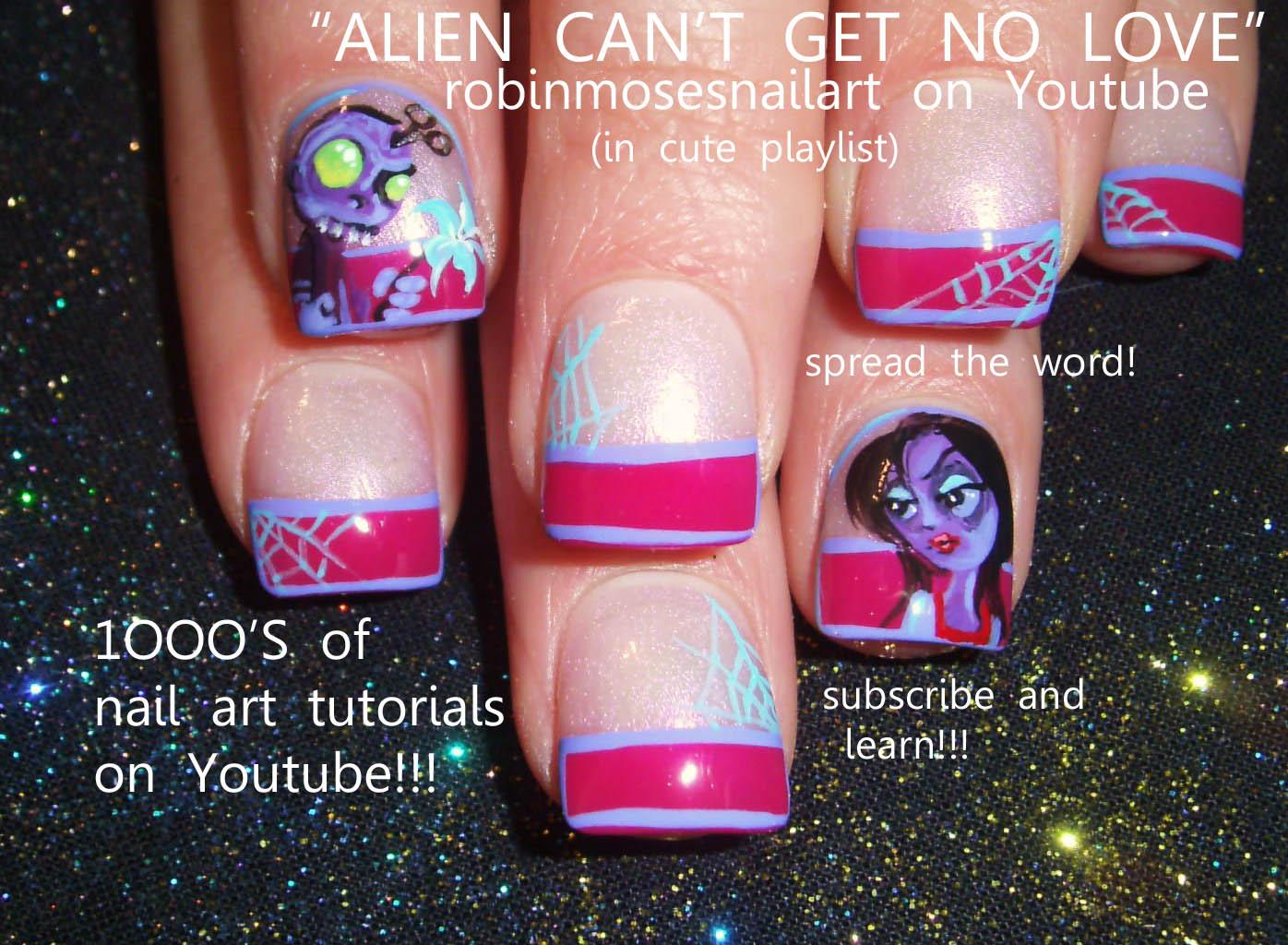 Nail Art Design Goth Nail Art Prom Nail Art Gothic Nails Goth