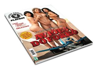 Revista Playboy Aviões do Forró Agosto 2011