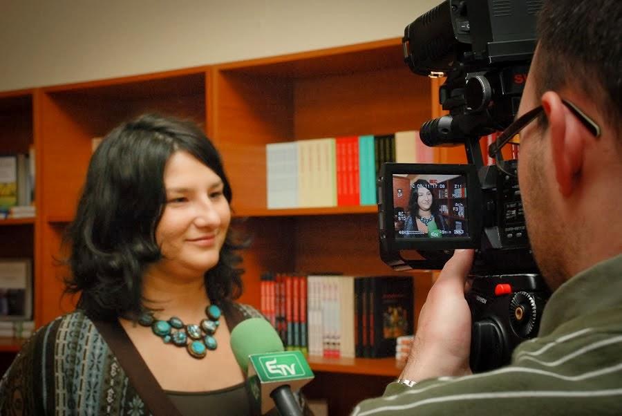 Interjú a Kolozsvári Televízió műsorában