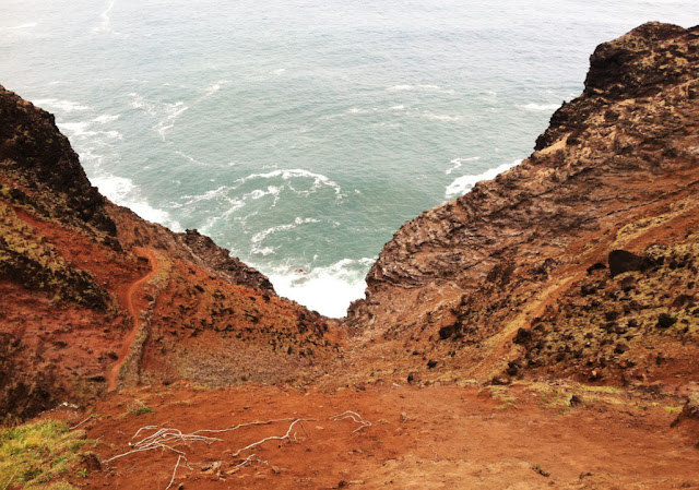 Kalalau trail, Na Pali Coast - Kauai - Hawaï, USA