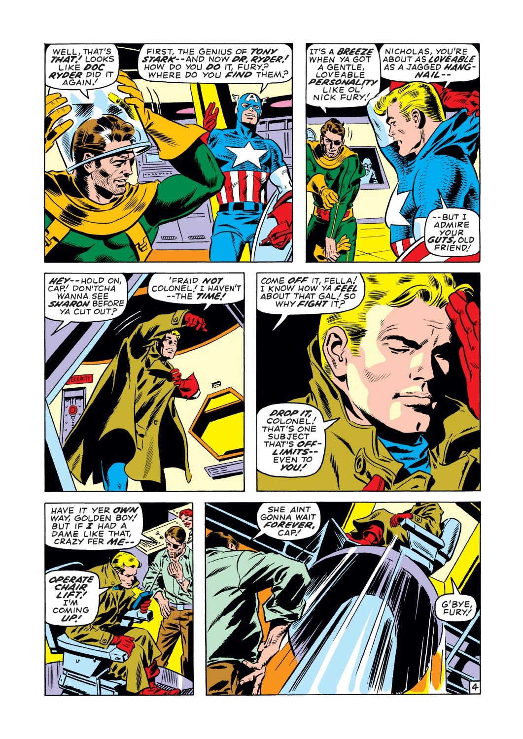 Captain America (1968) Issue #127 #41 - English 5