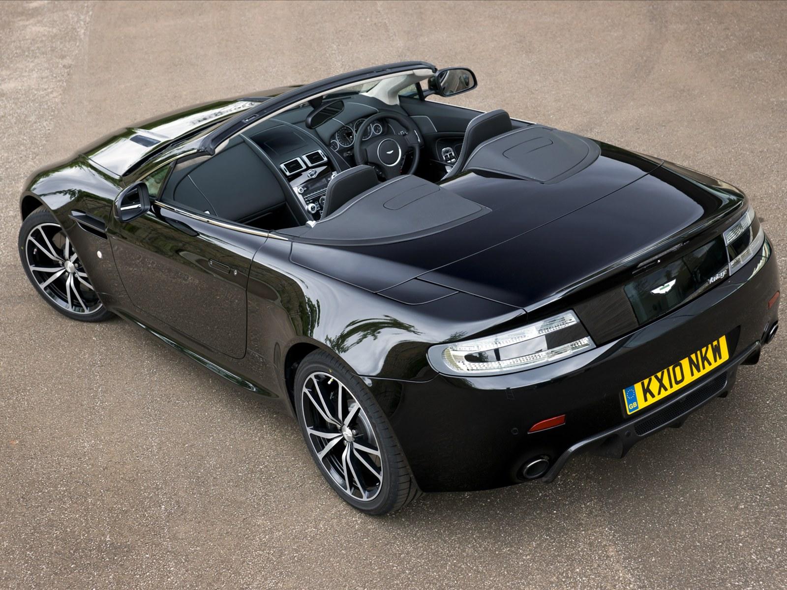 Car Pictures: Aston Martin V8 Vantage N420 Roadster 2011