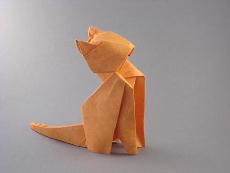 Origami Cat Nishikawa 3d Make Easy Origami Instructions Kids