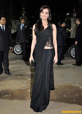 Dia Mirza arrives for the Filmfare Awards at Yash Raj Studio Mumbai_FilmyFun.blogspot.com