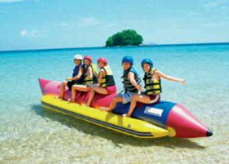 bananaboat pulau tidung