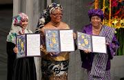 Nobel de la Paz-tres mujeres africanas