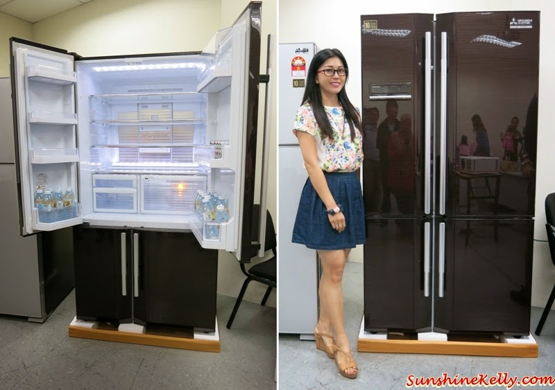 Mitsubishi Electric, Eco Changes, For A Greener Tomorrow, L4Grande refrigerator