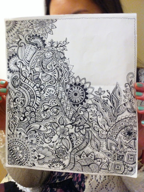 Henna Drawings On Paper Tumblr During my 3-hour class,