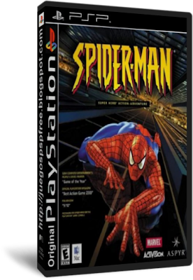 Spiderman [Full] [1 link] [Ingles] [PSP] [FS]