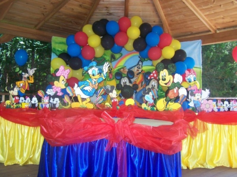 Fiesta Infantiles de Mickey Mouse Clubhouse - Party Ideas | Arcos ...