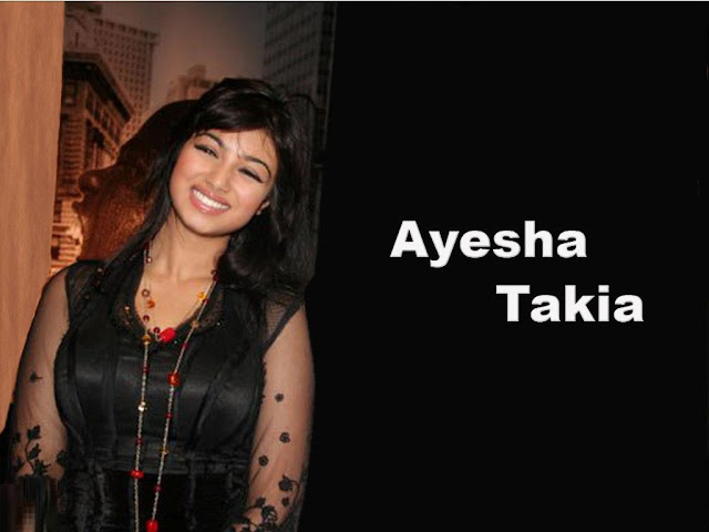 Ayesha Takia in Black